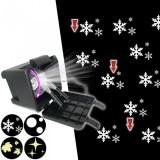 LED projektor crni,za van,razne projekcije 176 - 25607486