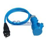 Adapter šuko 60486 1,5m H05RR-F 3x1,5 /1,5m