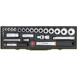 """Garnitura nasadnih ključeva Proxxon 1/4"""" + 1/2"""" 6-32 mm PX23020"""