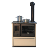 PLAMEN štednjak kuhinjski 8 - 11 kW GLAS 850 krem desni