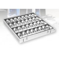 FLUO raster svjetiljka ugradna, 4x18W, 60cm, 345-101, elektronska