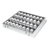 LED raster svjetiljka ugradna, 4xT8, 60cm, 345-601