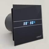 Ventilator CATA ugradbeni bešumni E-100 GTH BK crni