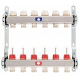 Razdjelnik ITAP za podno grijanje s topmetrima (INOX 917C), 10 krugova