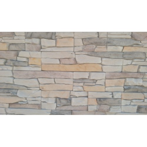 Kamen dekorativni Lubino 057 sivi uzorak