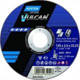 Rezna ploča za metal Norton Vulcan 125x2,5x22,23
