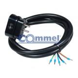 Priključni kabel trofazni 0713 H05W-F 5G 2,5 1,5m