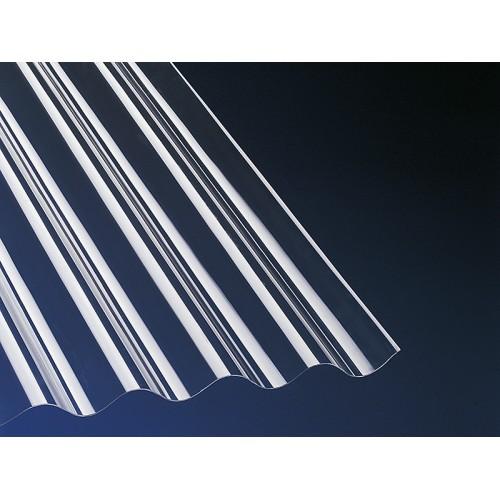 Krovna ploča Gutta-Guttagliss PVC prozirna 200x90 cm