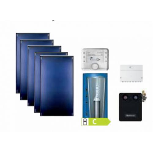 Buderus solarni paket za podršku sustavu grijanja SKT PL 750 kosi krov