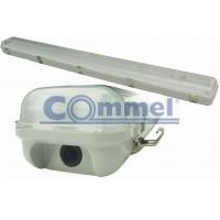 FLUO svjetiljka vodotijesna 2 x 36W, IP 65, elektronska prigušnica, 344-301