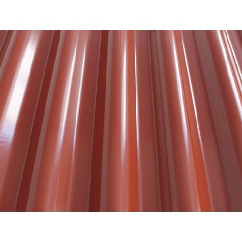 Krovna ploča Gutta plastika Guttaeco crvena 2000x1104x1,6 mm