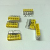 Stezaljka utična Wago 5x2,5mm2 žuta